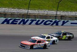 Joey Gase, Jimmy Means Racing Chevrolet, Ray Black Jr., SS-Green Light Racing Chevrolet, B.J. McLeod