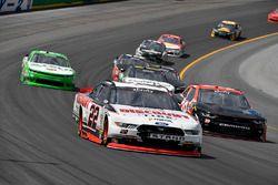Joey Logano, Team Penske Ford, Ryan Sieg, RSS Racing Chevrolet