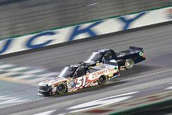 Myatt Snider, Kyle Busch Motorsports Toyota, Wendell Chavous, Premium Motorsports Chevrolet