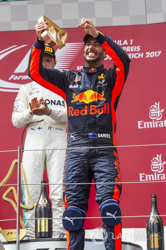 Подіум: третє місце Даніель Ріккардо, Red Bull Racing