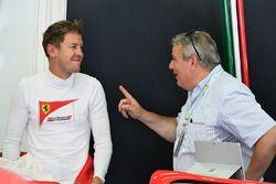 Sebastian Vettel, Ferrari en Giorgio Ascanelli