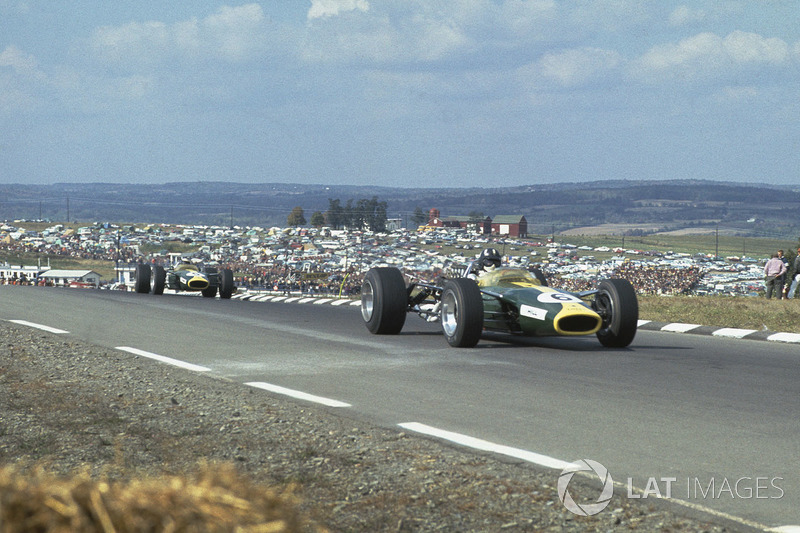 13º Graham Hill, Lotus 49, Watkins Glen 1967. Tiempo: 1:05.480