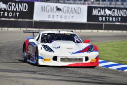 #59 TA Chevrolet Corvette driven Simon Gregg, Derhaag Motorsports
