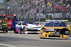 #96 TA2 Chevrolet Camaro, Kyle Marcelli, Fields Racing, #5 TA2 Chevrolet Camaro, Lawrence Loshak, Lo