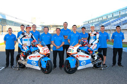 Edgar Pons and Fabio Quartararo, Pons HP 40 with the team