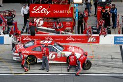 Pit stop, Ryan Reed, Roush Fenway Racing Ford
