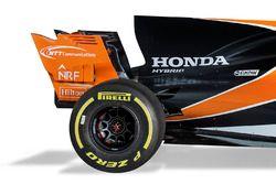 McLaren MCL32: Motorhaube und Heckflügel