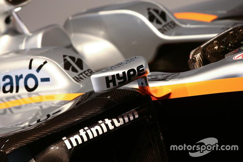 印度力量 VJM10 赛车细节