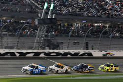 Johnny Sauter, GMS Racing Chevrolet; Kaz Grala, GMS Racing Chevrolet; Chase Briscoe, Brad Keselowski Racing Ford; Matt Crafton, ThorSport Racing Toyota