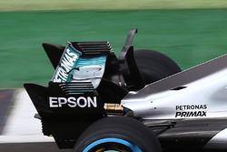 Le T-wing de la Mercedes AMG F1 W08