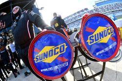 Matt Tifft, Joe Gibbs Racing Toyota Sunoco gas cans