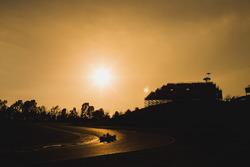 Les essais au coucher du soleil