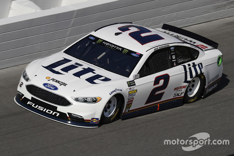Unfall: Brad Keselowski, Team Penske, Ford