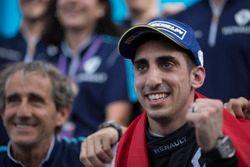 Sébastien Buemi, Renault e.Dams celerates with Alain Prost