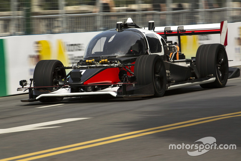 Roborace development cars DevBot 1