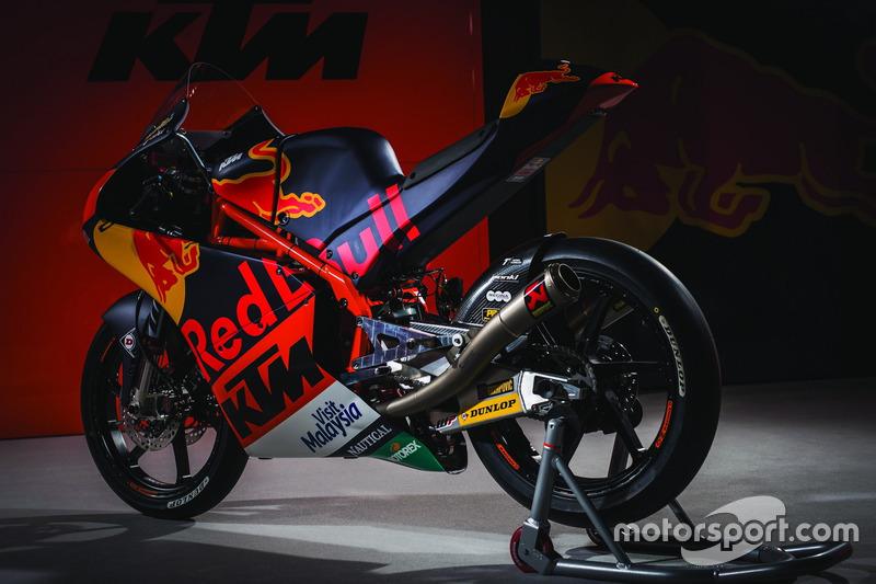 Bike von Niccolo Antonelli, Red Bull KTM Ajo