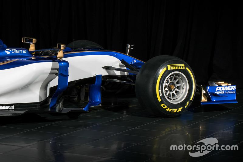 L'avant de la Sauber C36