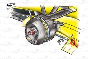Jordan EJ13 front brake duct assembly