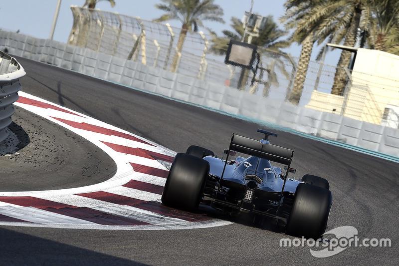 Pascal Wehrlein, Mercedes AMG F1 W06 Hybrid 2017 Pirelli lastiklerini test ediyor
