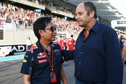 Chalerm Yoovidhya, Red Bull Racing Co-Owner mit Gerhard Berger
