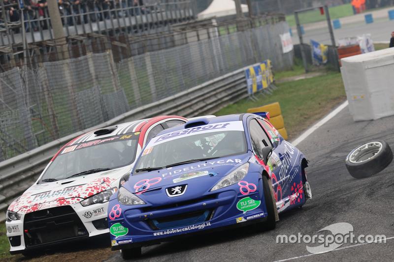Barsanofio Re, Monica Luca, Peugeot 207
