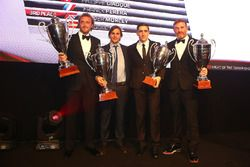 2016 Endurance Cup Pro-AM Cup Drivers, Alessandro Bonacini, Andrea Rizzoli, champions, Oliver Morley