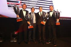 2016 Endurance Cup Pro-AM Cup equipos, Alessandro Bonacini, Andrea Rizzoli, campeones, Oliver Morley