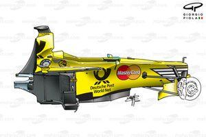 Jordan EJ10 2000 chassis