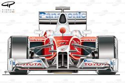 Toyota TF109 2009 front view