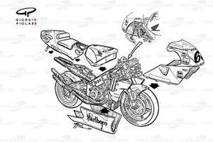 Honda NSR500 de Loris Capirossi
