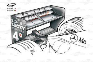 Aileron arrière de la McLaren MP4-16