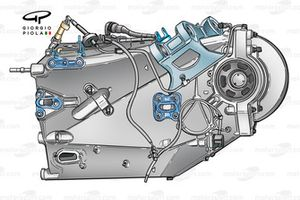 Boîte de vitesses de la Williams FW25