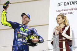 Podium : le troisième, Valentino Rossi, Yamaha Factory Racing