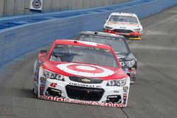 Kyle Larson, Chip Ganassi Racing Chevrolet and Jeffrey Earnhardt, Circle Sport – The Motorsports Gro