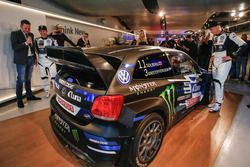 Petter Solberg et Johan Kristoffersson, PSRX Volkswagen Sweden, VW Polo RX