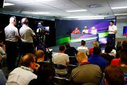The post Qualifying Press Conference with Lewis Hamilton, Mercedes AMG, Sebastian Vettel, Ferrari, a