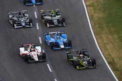 Tristan Vautier, Dale Coyne Racing Honda Charlie Kimball, Chip Ganassi Racing Honda