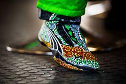 Schuhe von Mark Winterbottom, Prodrive Racing Australia Ford