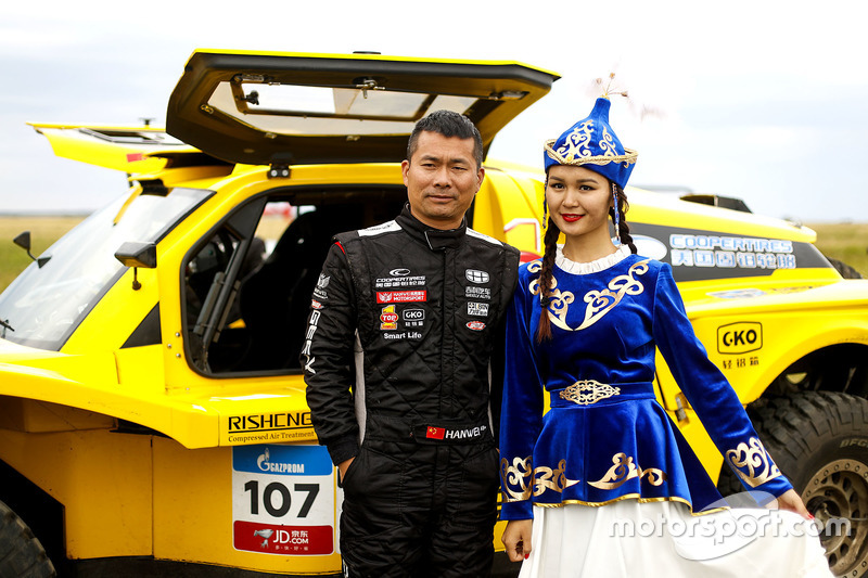 #107 Geely Auto Cooper Tires Team Geely: Wei Han