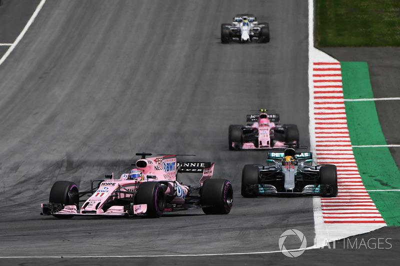 7e : Sergio Pérez (Force India)