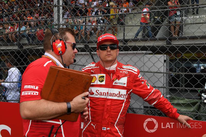 Kimi Raikkonen, Ferrari, Dave Greenwood, Ferrari