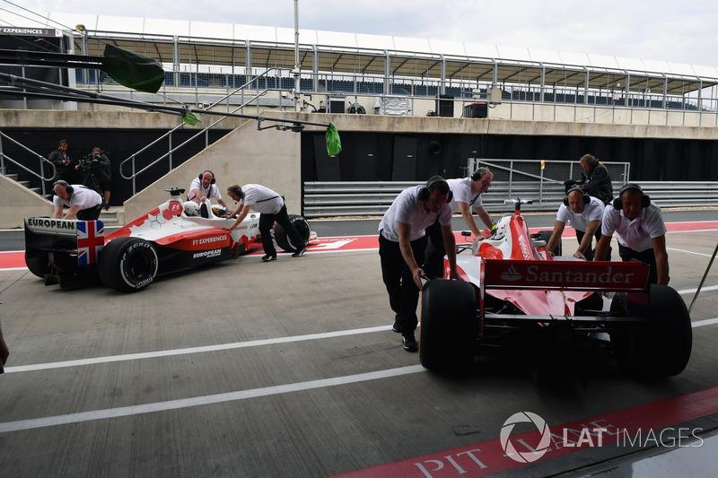 F1-Doppelsitzer