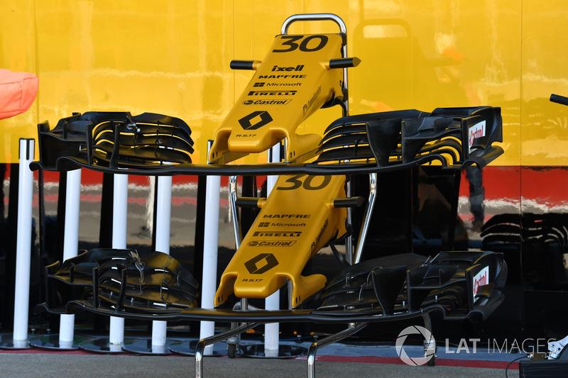 Renault Sport F1 Team RS17: Frontpartie