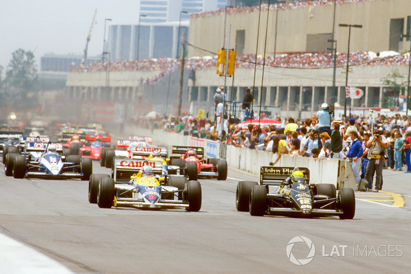 4 - GP de Detroit, 1986, Detroit (EUA)