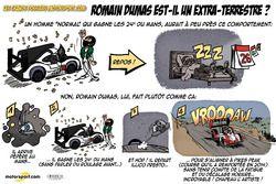 L'humeur de Cirebox - Romain Dumas est-il un extra-terrestre ?