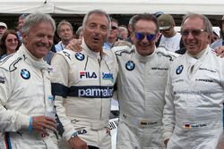 Marc Surer, Riccardo Patrese, Johnny Cecotto, Harald Grohs