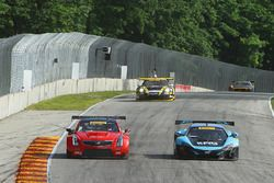 #3 Cadillac Racing Cadillac ATS-VR GT3: Johnny O'Connell, #6 K-Pax Racing McLaren 650S GT3: Austin C