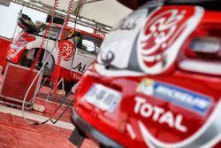 Stéphane Lefebvre, Gabin Moreau, Citroën DS3 WRC, Abu Dhabi Total World Rally Team