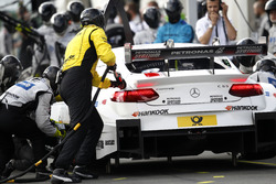 Pit stop Esteban Ocon, Mercedes-AMG Team ART, Mercedes-AMG C 63 DTM DTM