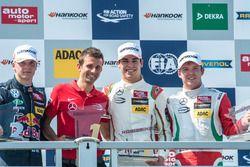 Podium: Nikita Mazepin, HitechGP, Dallara F312 - Mercedes-Benz; Lance Stroll, Prema Powerteam, Dalla